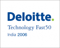 Hurix Digital wins the Deloitte Technology Fast 50 India 2006 award.