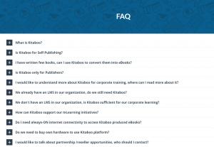 KITABOO FAQ